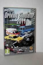 DRIVING SIMULATOR 2011 GIOCO USATO OTTIMO PC DVD VERSIONE ITALIANA GD1 56988