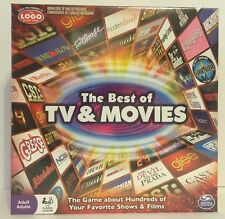 The Best Of TV And Movies Board Game Brand New Sealed! Spin master 2014