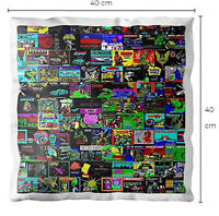 Sinclair ZX Spectrum Next 48k Loading Screen Cushion Pillow 40X40CM