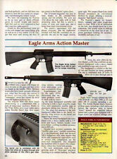 1992 EAGLE ARMS Action Master AR-15 Variant RIFLE 2-pg Article w/specs