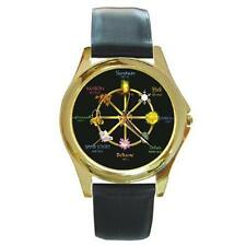 WICCAN PAGAN CALENDAR GOLD-TONE WATCH 2 OTHER STYLES CHARM,  SILVER-TONE