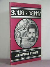 signed by Delany, Samuel Delany by Jane Weedman, Starmont Reader's Guide 10