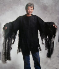 New Rotting Shirt Undead Zombie Monster Black Cloak Adult Halloween