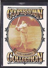 """1994  LOU GEHRIG - Starting Lineup """"COOPERSTOWN"""" Baseball Card - N.Y. Yankees"""