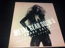 0392-3 METAL GEAR SOLID 3 Snake Eater Original Soundtrack Tactical Espionage CD
