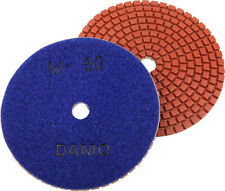 "5"" Wet Diamond Polishing Pad Grit 50 for Granite/Concrete/Marble Countertop"