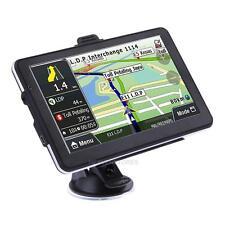 "7"" Truck Car GPS Navigator Navigation Navi Sat 8GB Navi UK EU FR DE World Map"