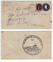 USA 1938 National Air Mail Week cover