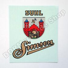 Wasser-Abziehbild für Simson SR1, SR2, AWO *NEU*