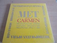 Metropolitan Opera MET Historic Broadcast Georges Bizet CARMEN 4.17.1937 LP NEW