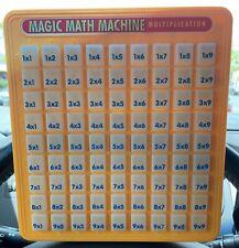 1993 Lanard Toys Magic Math Machine Multiplication