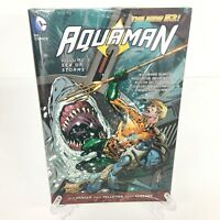 Aquaman Volume 5 Sea of Storms Col #26-31 DC Comics HC Hard Cover New Sealed
