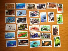 WWF Sticker Rewe viele verschiedene
