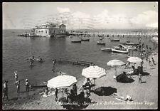 cartolina CIVITAVECCHIA spiaggia e stabilimento balneare pirgo