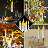 12X Flameless LED Taper Candle Battery Operated Dinner Home Party Wedding Light