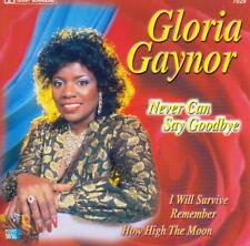 CD audio.../...GLORIA GAYNOR.../....NEVER CAN SAY GOODBYE....