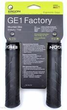 Ergon GE1 Factory Frozen Black MTB/Enduro Handlebar Lock-On Bike Grips Large/XL