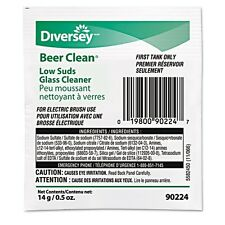 Diversey Beer Clean Low Suds Glass Cleaner - 990224