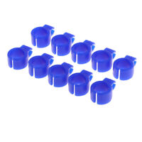 Blue Color Smoker Finger Rings Hand Holder Silicone Material Soft Rings