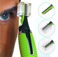 Electric Trimming Nose Nasal Ears Eyebrow Trimmer With Light Shaver For Men JJ