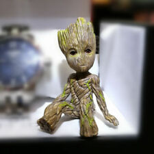 Cute Pvc Guardians of The Galaxy Vol. 2 Sitting Baby Groot Figure Toy Gift 2017