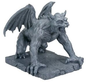 Medieval Horned Gargoyle Connall Figurine Statue Collectible Figure New