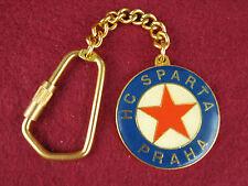 Rare Hc Sparta Hockey Club Key Fob Chain Htf Vtg Souvenir Prague Czech