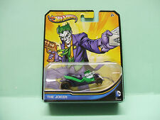 THE JOKER BATMAN DC COMICS HOT WHEELS BLISTER US 1/64 3 inches