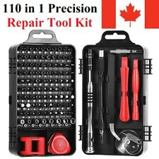 110 in 1 Precision Screwdriver Set Repair Tool Kit Magnetic For iPhone Computer