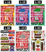 Yamaha Logo Stickers Bumper Motorbike Motorcycle Quad Bike MTB Graphics Decals