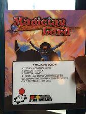 Magician Lord Neo Geo Mini Arcade Marquee