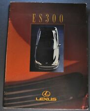1992 Lexus ES 300 Catalog Sales Brochure Excellent Original 92 Canadian