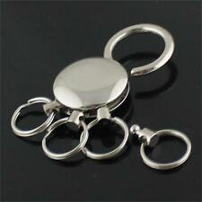 Belt On Pants Chain Key Chain Detachable Keychain 4 Ring Keyring Holder