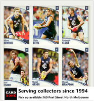 Popular--2009 Select AFL Sticker Base Team Set Carlton (12)