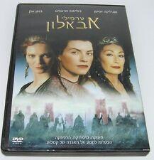 THE MISTS OF AVALON Hebrew COVER ISRAELI 2001 Movie DVD Anjelica Huston OOP