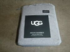 UGG Bed Sheet Twin Set XL - Devon Chambray - Never Opened