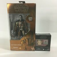"Star Wars Black Series Carbonized The Mandalorian 6"" Exclusive Figure +The Child"