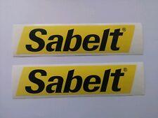 Sabelt Sticker Decal x 2 Abarth