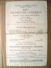 Royal Albert Hall- BBC Promenade Concerts, 8 July 1943