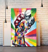 CANVAS WALL ART PRINT ARTWORK FRAMED POSTER Graffiti Street Banksy Style Sailor