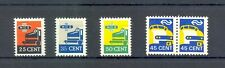 NETHERLANDS RAILWAY-TRAIN STAMP --5 STAMPS --* - MH --VF