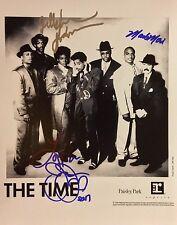 GFA Monte Jellybean & Jesse Johnson * THE TIME * Signed 11x14 Photo PROOF T3 COA