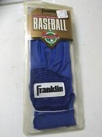 Franklin Leather Batting Glove New Old Stock Right Hand Youth Small All Blue