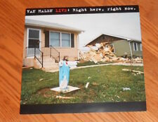 Van Halen Live: Right Here, Right Now Poster 2-Sided Flat 1993 Promo 12x12