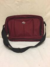 Vintage American Tourister Carry On Luggage Small Red Bag