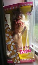 Barbie 1992 Australian Barbie -Dolls of the World #3626 Outback NIB HTF