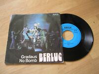 """7"""" Single Berluc Gradaus No Bomb Vinyl Amiga DDR 4 56 523"""