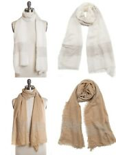 New Ombre Wrap Around Scarf Shawl with Small Sequins nwt