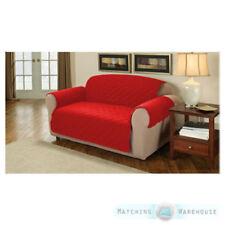 Housses de canapé, fauteuil, et salon rouge pour le salon Fauteuil