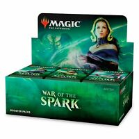 Magic MTG WAR OF THE SPARK Factory Sealed Booster Box - 36 Booster packs